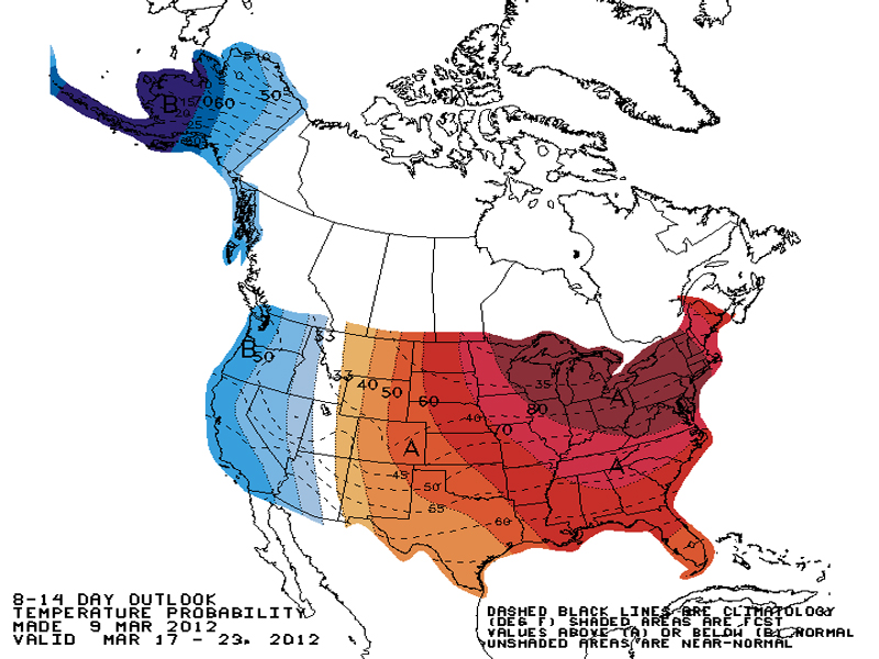 Spring Forecast for Midwest