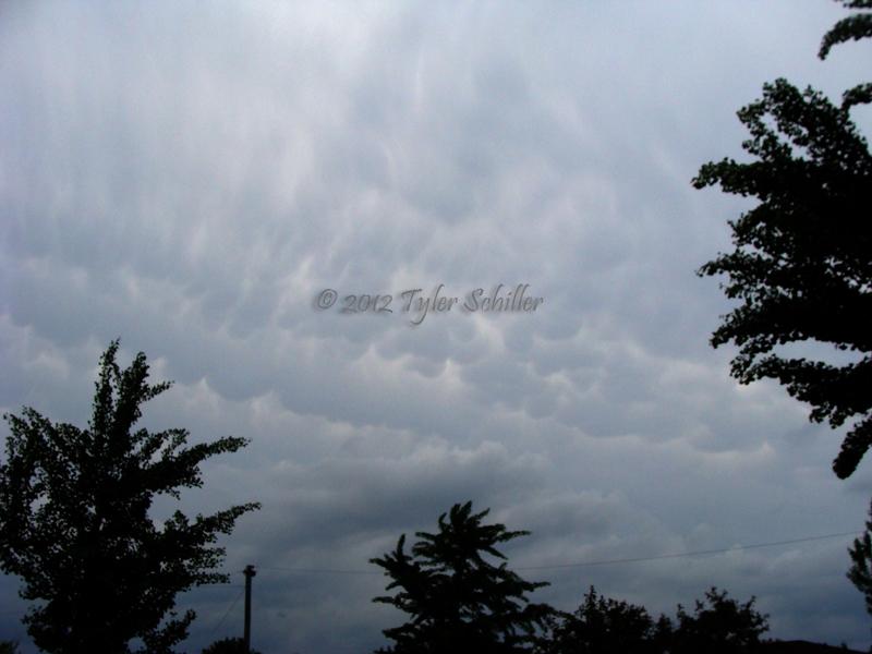 Mammatus Clouds - Memorial Day