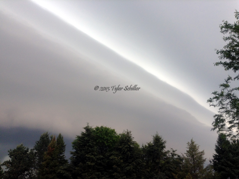 Shelf Cloud - Waukesha, Wisconsin