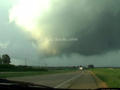Wall Cloud Crossing the Road